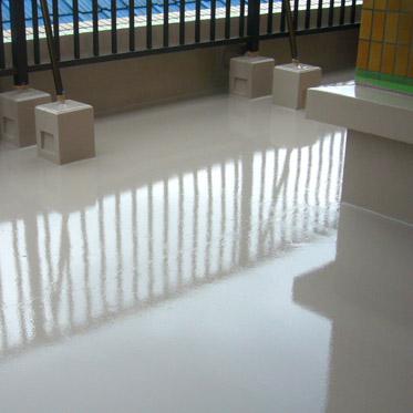 屋上塗膜防水工事