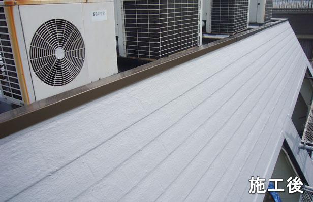 屋根防水施工後