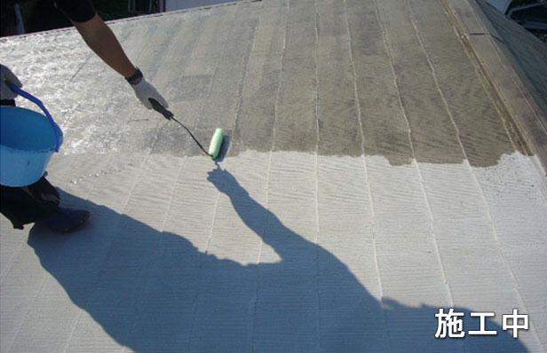 環境対応型エコプライマー塗布