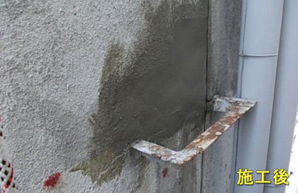外壁ロープ工事施工完了