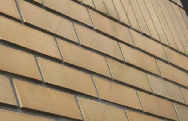 チェアゴンドラによる外壁タイル状態2