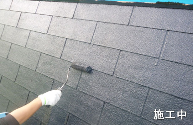 屋根防水工事-品川区04