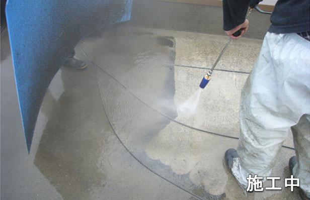 目黒区マンション屋上防水工事高圧洗浄