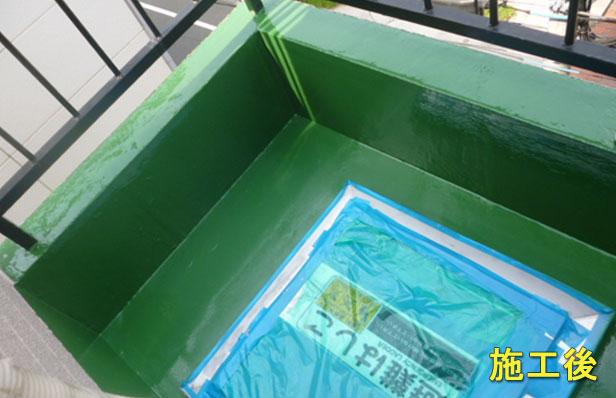 品川区マンション防水工事施工完了