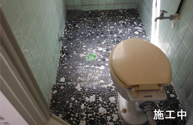 浴室防水層撤去