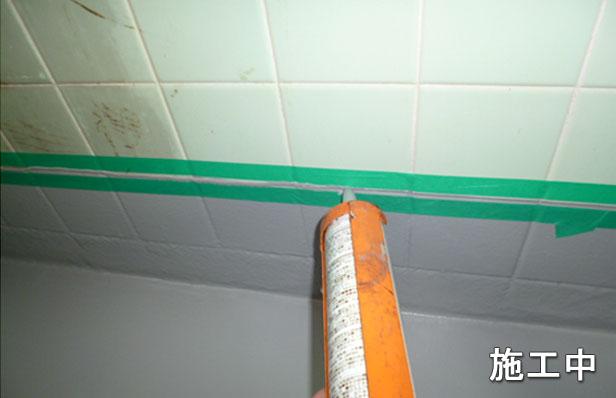 浴室防水シリコンシール材