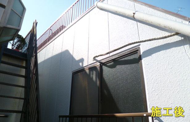 品川マンション塗装施工完了