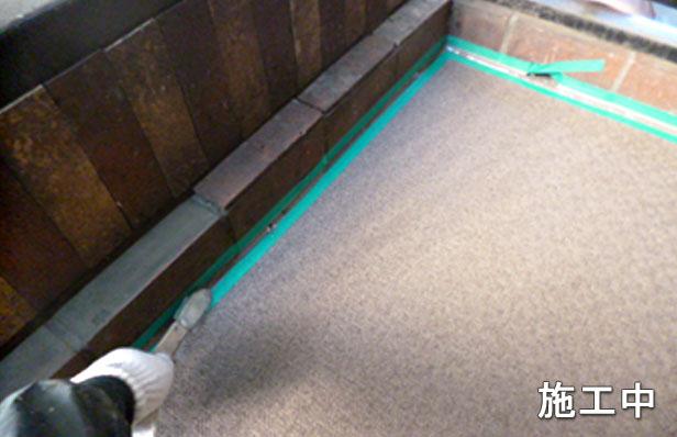 マンション階段補修(仕上げヘラ)②