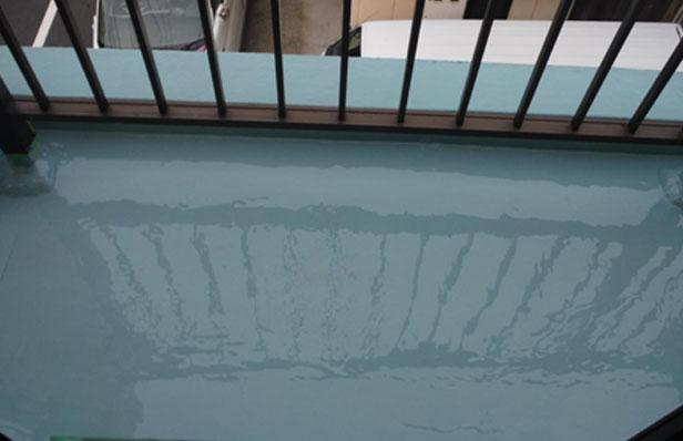 ウレタン防水層 1層目②