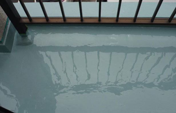 ウレタン防水層 2層目②